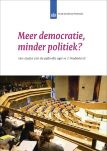 Meer democratie, minder politiek