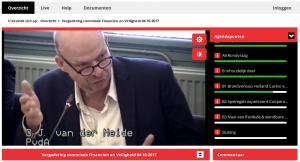 Terugkijken: Vergadering commissie Financiën en Veiligheid 04-10-2017 over de Coöperatieve Wijkraad
