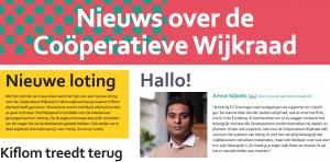 Wijkkrant juni 2018
