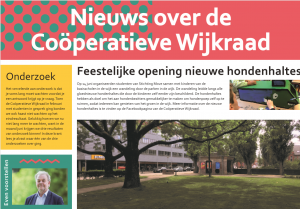 Wijkkrant Juni 2019