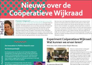Wijkkrant Januari 2020